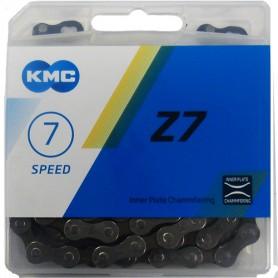 KMC Chain Z7 114 links grey/brown-box