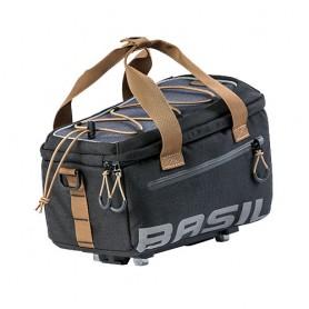 Basil Miles Trunkbag MIK Gepäckträgertasche + MIK Adapterplatte 7L schwarz grau
