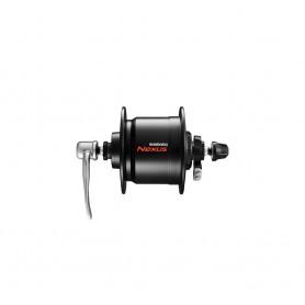 Shimano Nabendynamo DH-C3000-3N schwarz Schnellspann 32 Loch