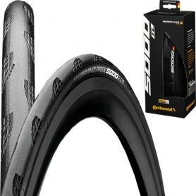 Continental 28-584 GrandPrix 5000 Tubeless Foldable black/black-skin