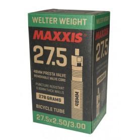 Maxxis Schlauch WelterWeight Plus 27.5x2.50 - 3.00 Presta/FV 48mm