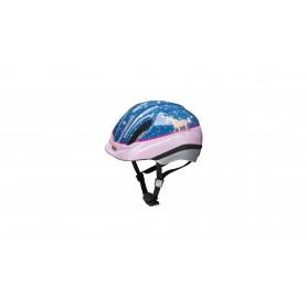 Bike Fashion Kinderhelm Pferdefreunde Blau Gr. S 52-57 Cm
