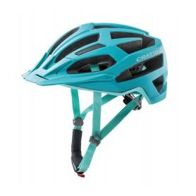 Cratoni Fahrradhelm C-Flash (MTB) Gr. S/M (53-56cm) türkis/blau matt