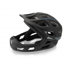XLC All MTN Full Face Fahrradhelm BH-F05 Gr.L/XL (54-60cm) schwarz