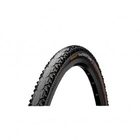 Continental CONTACT Travel bicycle tyre 50-622 Duraskin E-25 wired black