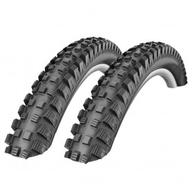 2x Schwalbe Magic Mary BikePark Addix bicycle tyre 60-559 E-25 wired black