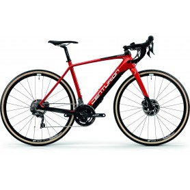 Centurion Overdrive Carbon Gravel Z4000 2019 E-Bike carbon red frame size 50 cm