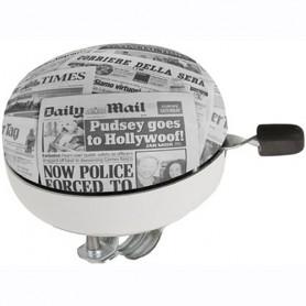 Basil Fahrrad Glocke 2-klang 80mm Zeitung