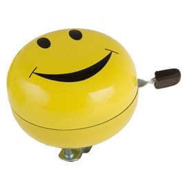 Bike Bell 2-Tone 80 mm Smiley