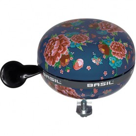 BASIL Glocke BIG BELL BLOOM indigo blue