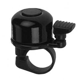 Fahrrad Glocke Mini Alu metrische Schraube schwarz
