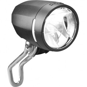 Busch + Müller Dynamo-Headlight Lumotec Myc N plus with StVZO LED black 50 Lux