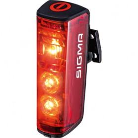 Sigma Licht Akku-Taillight Blaze with cert~ Sigma LED black USB port
