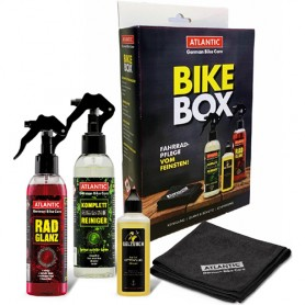 Atlantic BikeBox BikePolish Complete Cleaner Oil Fluid,Microfibre
