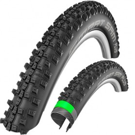 Schwalbe 47-622 Smart Sam PLUS Performance DD GreenG E-50 Wire Addix black SnakeSkin
