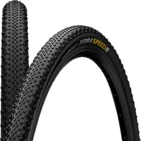 Continental 40-622 Terra Speed ProTection TL-Ready black foldable skin