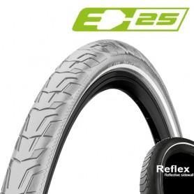 Continental 37-622 RIDE City E-25 Wire grey-reflex