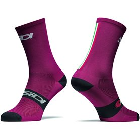 SIDI Socken Trace burgundy/black 44-46 rot/schwarz