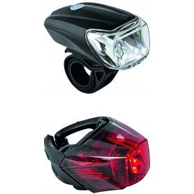PROCRAFT Lichtset LED Eco StVZO zugelassen schwarz