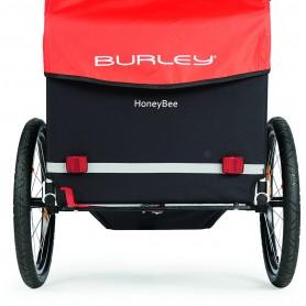 Burley Kinderanhänger Honey Bee Einheitsgröße rot