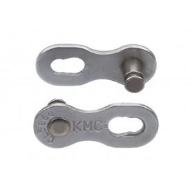 KMC Verschlussglied 9NR EPT silber 40-Sets Campagnolo/Shimano/KMC 9-fach