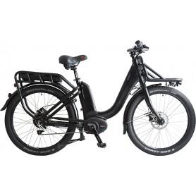 BBF E-Bike Chicago 26 Zoll 2x400 Wh NUVINCI N330 Nfinity schwarz RH 48 cm