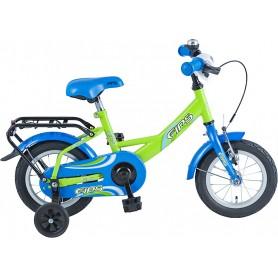 BBF Kinderrad Fips 12 Zoll 2019 grün blau RH 23 cm