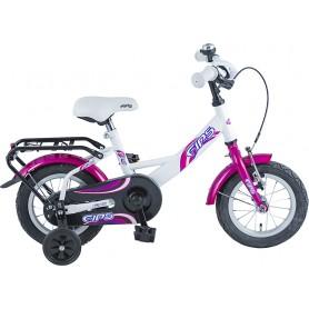 BBF Kinderrad Fips 12 Zoll 2019 weiß violett RH 23 cm