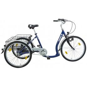 BBF Shoppingrad Konstanz Unisex 26/24 Zoll 2019/20 7-Gang NEXUS blau RH 48 cm
