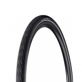 Vredestein DYNAMIC TOUR bicycle tyre 28 inch 40-635 wired reflective strips black