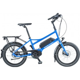 BBF E-Bike Dallas 20 Zoll 2020 418 Wh blau RH 35 cm