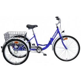 BBF Shoppingrad Lindau 26/24 Zoll 2019/20 blau RH 48 cm