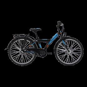 Hercules Robo R3 Jugendfahrrad 2020 24 Zoll schwarz blau glänzend RH 34 cm