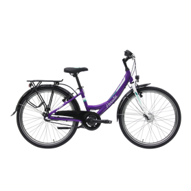 Hercules Pippa R3 Kids bike 2020 Wave 24 inch purple shiny frame size 34 cm