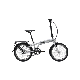 Hercules Versa R3 Belt Faltrad 2020 20 Zoll silber matt RH 29 cm