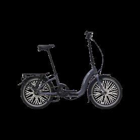 Hercules Versa R7 ZR Folding bike 2020 20 inch anthracite matt frame size 29 cm