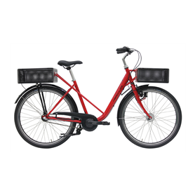Hercules Cargo City Cargo bike 2020 26 inch red frame size 48 cm