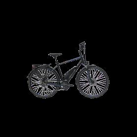 Hercules Alassio Sport 9 E-Bike 2020 diamond 28 inch black matt frame size 58 cm