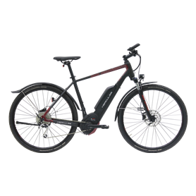 Hercules Rob Cross Sport 9.1 E-Bike 2019 Trekking 28 inch black red 61 cm