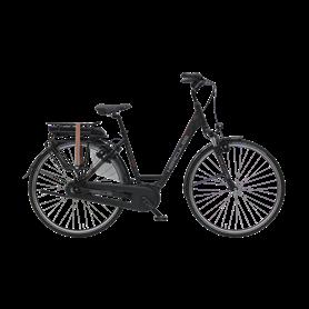 Hercules Montfoort Cruise F7 V.1 E-Bike 2020 28 inch black matt frame size 45 cm