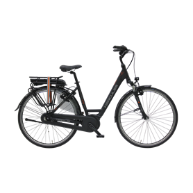 Hercules Montfoort Cruise F7 V.1 E-Bike 2020 28 inch black matt frame size 55 cm