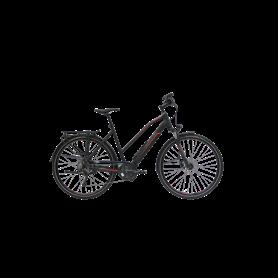 Hercules Alassio Pro 10 E-Bike 2020 trapeze 28 inch black matt frame size 49 cm