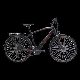 Hercules Alassio Pro 10 E-Bike 2020 Trekking 28 inch black matt frame size 53 cm
