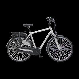 Hercules Montfoort F7 E-Bike 2020 28 inch 400 Wh silver matt frame size 53 cm
