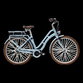 Hercules Viverty E F7 E-Bike 2020 28 inch 400 Wh blue grey metallic 55 cm