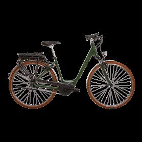 Hercules Urbanico F8 E-Bike 2020 28 inch 400 Wh dark green shiny frame size 54cm