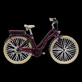 Hercules Viverty E F7 E-Bike 2020 28 inch 500 Wh shiny berry frame size 55 cm