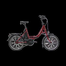Hercules Rob Fold F8 E-Folding bike 2020 20 inch 400 Wh dark red shiny 46 cm
