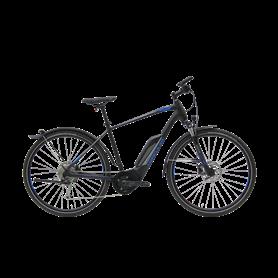 Hercules Rob Cross Sport E-Bike 2020 diamond 28 inch black matt frame size 55 cm