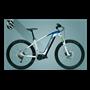Hercules NOS Sport 1.1 E-Bike 2020 27.5+ inch white shiny blue matt 41 cm